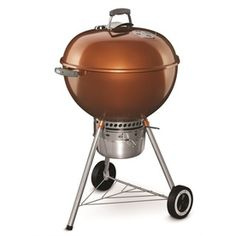 Original Kettle Premium 22-in Copper Porcelain Enamel Kettle Charcoal Grill
