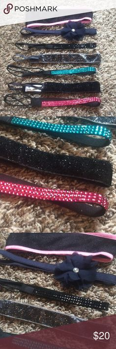 7 Headband bundle! EUC all gemstones intact, all headbands are not stretched out. Cloth in excellent condition. No signs of wear. Accessories Hair Accessories