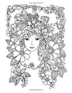 Faces Coloring Book For Grown-Ups Volume1. source: amazon.com