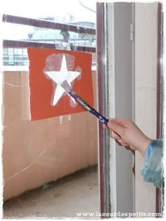 Recette de peinture de fenêtre pour Noël |La cour des petits