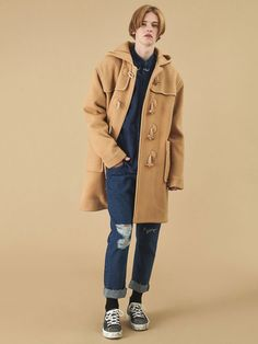 13Month 15 fw duffle coat beige