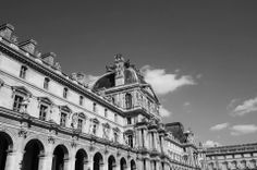 On a beautiful day, as I was walking near the Parc des Tuileries, so close to the Louvre, Paris