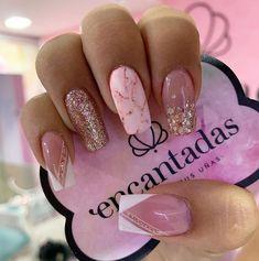French Manicure Nail Designs, Classy Nail Designs, Nail Art Designs, Acrylic Nails Coffin Short, Best Acrylic Nails, Sexy Nails, Classy Nails, Plaid Nails, Pink Nail Art