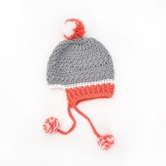 Yarnspirations is the spot to find countless free intermediate crochet patterns, including the Red Heart Little Miss Pompom Hat. Browse our large free collection of patterns & get crafting today! Easy Crochet Hat, Crochet Cable, Crochet Toddler, Crochet Kids Hats, Crochet Mittens, Crochet Beanie, Free Crochet, Crochet Pattern, Knitting Stiches