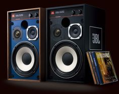 JBL 4312 in Walnut and Grey/Black Finishes.