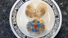 With a roll of refrigerated biscuits you can make these easy bunny biscuits anytime. Easy to change up, and my kids still love them to this day! Easter Dishes, Easter Snacks, Easter Peeps, Easter Treats, Bread Jam, Easter Biscuits, Cookie Decorating Party, Boiled Eggs, Hard Boiled