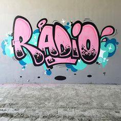 @radiohey #graff #grafffunk #graffiti #style