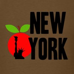 New York Big Apple Liberty. Click to find merchandise with this design.