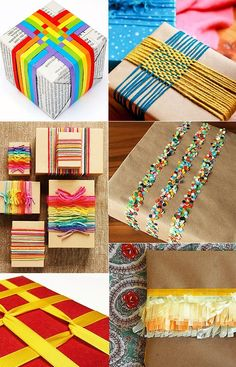 The art of wrapping gifts - great for the holiday season