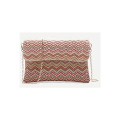 SheIn(sheinside) Mulitcolor Chevron Straw Flap Chain Bag ($18) ❤ liked on Polyvore featuring bags, handbags, shoulder bags, multi, vintage handbags, straw purse, vintage straw purses, vintage straw handbags and flap purse