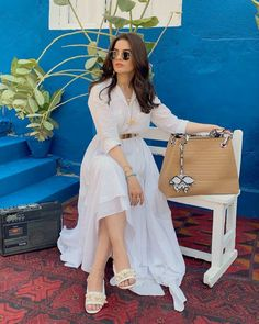 35 Trending Party Outfits For Pakistani Girls 2019 Classy Party Outfit, Cute Casual Outfits, Stylish Outfits, Girl Outfits, Fashion Outfits, Party Outfits, Frock Fashion, Pakistani Party Wear, Pakistani Girl