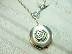 celtic knot locket