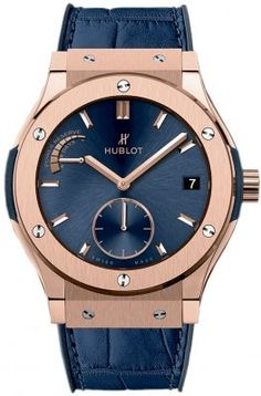 516.ox.7180.lr Hublot Classic Fusion Power Reserve 8 Days 45mm Mens Watch