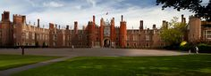 37-minute train ride from Waterloo Station in London brings you to Hampton Court Palace, the best-loved abode of King Henry VIII. Stroll the grounds and The Maze, the oldest maze in England, originally built in 1702. With hedges towering close to eight-feet high, the narrow, winding paths are over a half-mile long.  | Travel UK