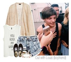 """""""Out with Louis (boyfriend)"""" by shefi-22 ❤ liked on Polyvore"""