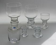 Herttua, Design: Heikki Orvola, Nuutajärvi/Arabia Finland 1969. Vintage Kitchenware, Mason Jar Wine Glass, Marimekko, Finland, Vintage Designs, Mid-century Modern, Mid Century, Ceramics, Glasses