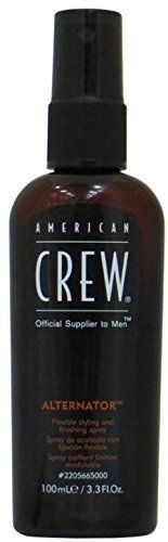 American Crew American Crew Alternator Flex Spray, 3.3 oz (Pack of 3):   For the most up to date information, we recommend you visit the manufacturer website for the best product details, including ingredients, hazards, directions and warnings. This product offering is for 3 Retail Package