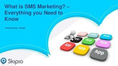 SMS Marketing is the best way to promote and publicize your business and engage or attract customers towards your business. In this PPT, I have defined some benefits of SMS marketing.