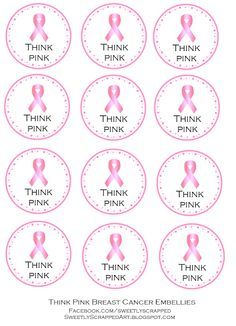 Sweetly Scrapped: Breast Cancer Awareness {free} printables