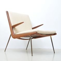 Modell 159 lounge chair by Peter Hvidt for France & Son, 1950s #LoungeChair