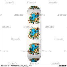 Release the Kraken! Skateboard