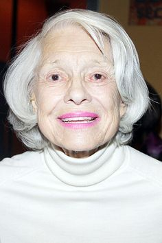 Channing Documentary Larger than Life Debuts at Tribeca Film Festival Old Celebrities, Celebs, Old Age Makeup, Carol Channing, List Of Famous People, Ann Miller, Tribeca Film Festival, Aged To Perfection, Beautiful Smile