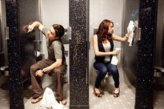 """Dan Byrd and Emma Stone in Will Gluck's """"Easy A"""""""