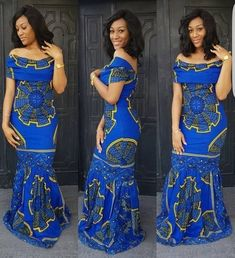 Blue African print dress,African clothing,African maxi dress,African print dress for prom,African dr African Maxi Dresses, Ankara Gowns, Ankara Dress, African Attire, African Wear, African Style, African Outfits, 50s Dresses, Elegant Dresses
