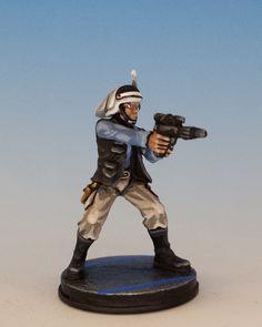 Imperial Assault | Rebel Trooper by Oldenhammer #Oldenhammer #Imperial #Assault…