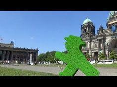 #Lustgarten is so much fun! Check it out :D #LittleGreenMan #AmpelmannWorld #FollowAmpelmann #ampelmannLifestyle #Berlin