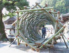 Bamboo tunnel OMG!!!