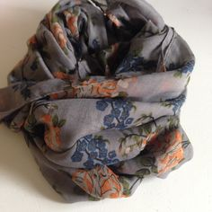 FALL Flowers! This scarf is PERFECT!!! www.juliaannasboutique.com