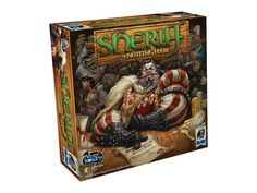 What's not to love about a game based on bribing, pleading, and lying to the faces of your fellow players? In Sheriff of Nottingham, you and up to four others play as merchants trying to get through Nottingham's city gate. They declare goods (in the form of cards in snap-fastened pouches) and occasionally try to sneak in valuable contraband. Each round, one player takes on the role of the sheriff, opening merchants' pouches if he suspects smuggling—but paying a high price if he guesses…