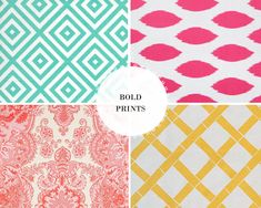 Would love to see any of these prints in a summer wedding ;)