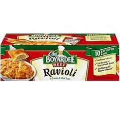 Chef Boyardeeå¨ Beef Ravioli - 15 oz. can