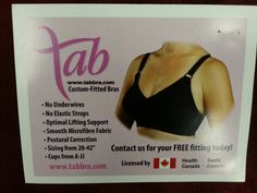 The Tab Bra line available at Chocolate Shoes Boutique! Westlock, Alberta Located in Peavey Mart Mall Hours Tues to Sat 1 - 6 pm
