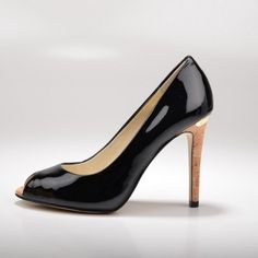 Women s Red and Black Gradient Stiletto Heels Peep Toe Patent Leather Pumps  for Big day  afdb396f1ff4