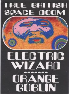 I checked out Man's Ruin Records Electric Wizard Orange Goblin Postcard Artwork By Frank Kozik on Lish, $4.99 USD