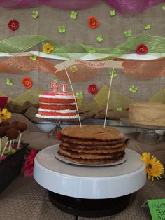 Molasses stack cake, birthday cake, stack cake. Cake birthday banner