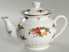 Royal Albert Old Country Roses Teapot & Lid