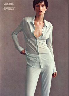 Vogue Italia February 1996, Spring Mood  Stella Tennant by Steven Meisel