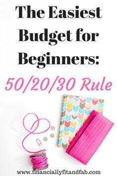 Made Easy for Beginners with the Rule Looking to make your first budget? Or give your budget a total revamp? Then you should start here. With the Rule. Ways To Save Money, Money Tips, Money Saving Tips, How To Make Money, Money Budget, Frugal Living Tips, Frugal Tips, Finanz App, Budget Planer
