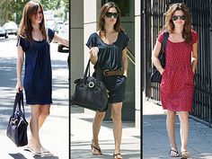 Comfortable dresses and flip flops!
