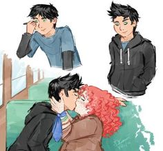 Every time I read Eleanor and Park, I never picture Eleanor as chubby or large, but whenever I see fan art she always is. I'm not sure if that makes me vain or horrible, but I don't think it's a big or noticeable part of the plot