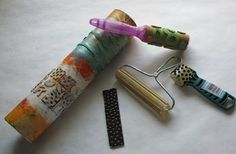 Judi Hurwitt's extensive tutorial in making stamps from household objects, and how to use and care for them!