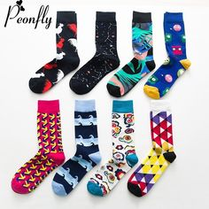 PEONFLY fashion colorful Happy Socks men Newly Cartoon Rooster Cloud Soft Breathable Cotton Short Socks Casual Funny Socks male  Price: $ 6.95   #QUALITY #AWESOMEPRODUCTS #GETSOCKED