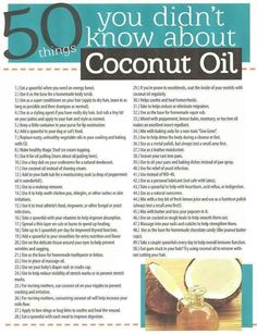 Coconut Oil Uses - Doctors Lack of Nutrition Knowledge 9 Reasons to Use Coconut Oil Daily Coconut Oil Will Set You Free — and Improve Your Health!Coconut Oil Fuels Your Metabolism! Herbal Remedies, Health Remedies, Natural Remedies, Benefits Of Coconut Oil, Uses For Coconut Oil, Cooking With Coconut Oil, Coconut Oil For Body, Coconut Oil Dark Circles, Coconut Oil Facial