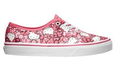 hello kitty x vans summer 2013 Hello Kitty Vans, Everything Pink, Vans Classic, Me Too Shoes, My Style, Lady, Sneakers, Summer, Stuff To Buy