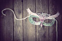 Magical Owl MASK by NinnApouladaki on Etsy, €8.00