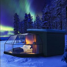 Arctic Fox Igloos in Ranua, Lapland, Finland - Visit Rovaniemi The Places Youll Go, Cool Places To Visit, Places To Go, Vacation Places, Dream Vacations, Dream Vacation Spots, Holiday Destinations, Travel Destinations, Magic Places